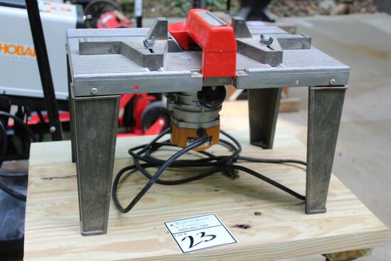 76116 DELUXE ROUTER TABLE ON STAND