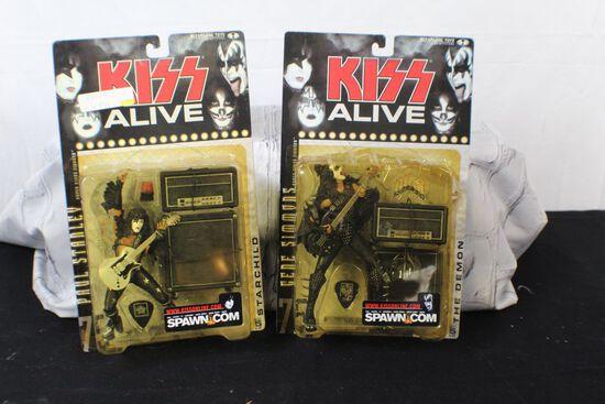 KISS alive figurines