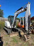 341 Bobcat excavator