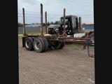 Log pup trailer