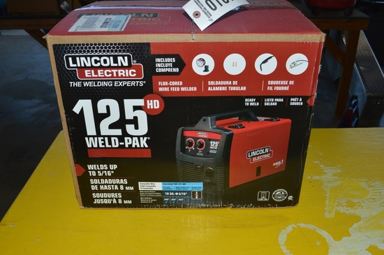Lincoln Electric 125 Weld-PAK