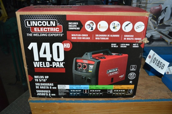 Lincoln Electric 140 Weld-PAK