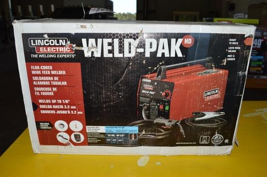 Lincoln Electric Weld-PAK wire welder