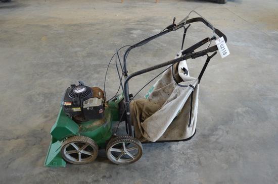 Billy Goat Estate vacuum