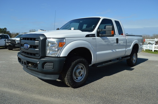 2015 Ford F-250 Extended Cab 4WD