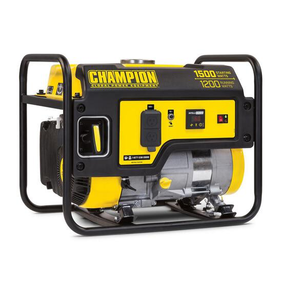 Champion Power Equipment 1200-Watt Gasoline Powered Recoil Start Portable Generator