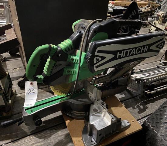 "Hitachi 12"" Sliding Compound Miter Saw"