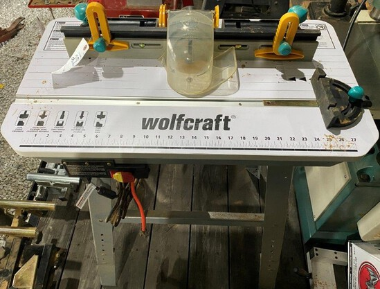 Wolfcraft Router Table w/ Bosch Router