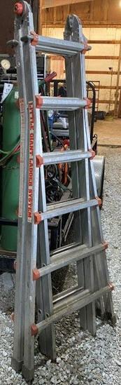 Little Giant 26' Folding Adjustable Alum. Ladder