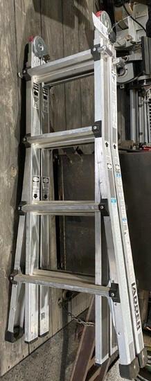 Vulcan 17' Folding Adjustable Extension Ladder