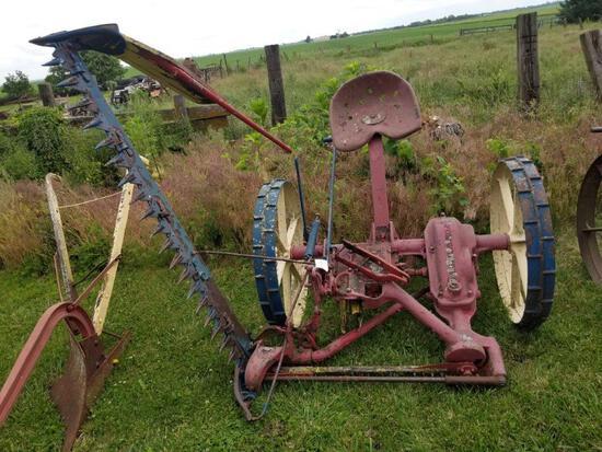 McCormick-Deering No. 7 Sickle Mower on Steel Wheels