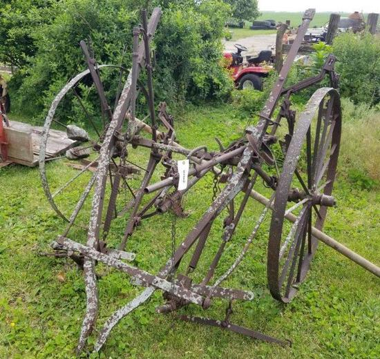 Horse Drawn One Row Cultivator