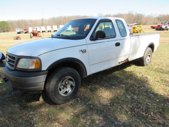 2003 Ford F150 Super Cab Pickup Truck