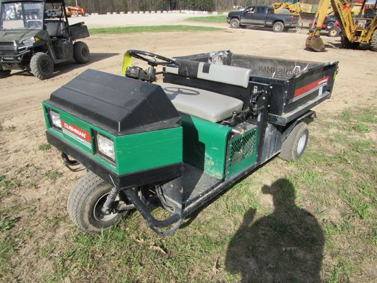 Cushman 3 Wheel Utility Cart