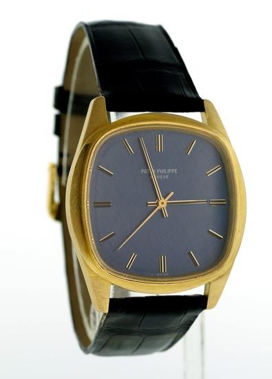 RARE Patek Philippe Ref. 3585 18k Gold Back AutomaticWind Wristwatch