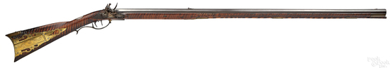 Thomas Allison full stock flintlock long rifle