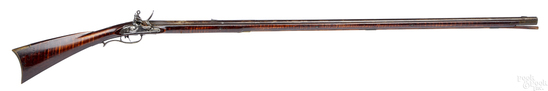 Pennsylvania full stock flintlock long rifle