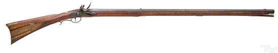 William Weiss full stock long rifle