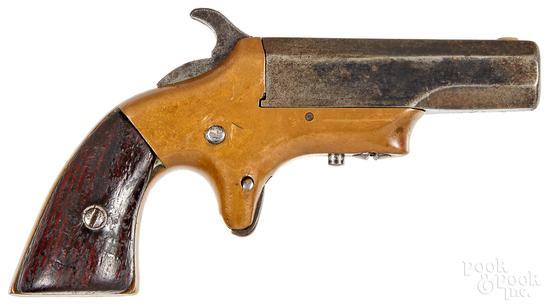 Brown Southerner single shot Derringer pistol