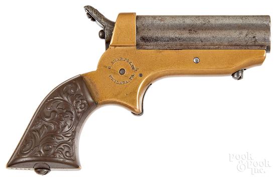 Sharps model 1 pepperbox pistol