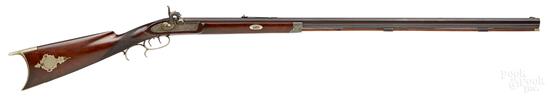 Half stock percussion rifle