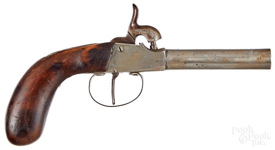 German percussion pistol