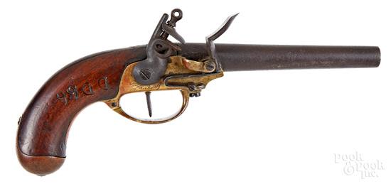 French model 1777 Maubeuge flintlock pistol
