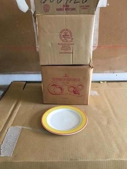 Brand New Homer Laughlin China 9 7/8  inch Seville Plate