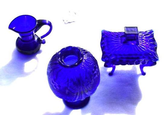 Cobalt decorative Glassware