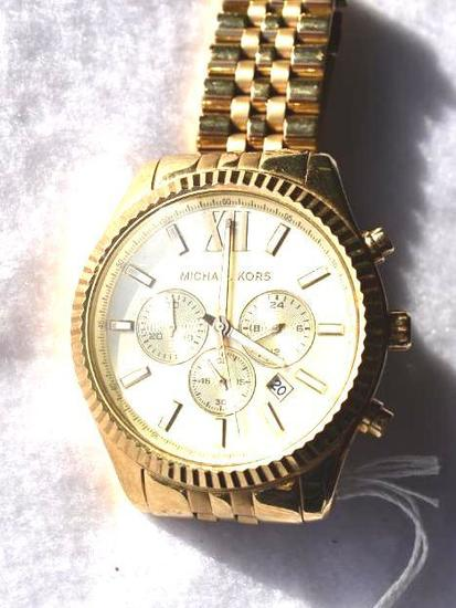 Mens Michael Kors Stainless Chronograph watch