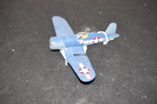 Vintage Die Cast Metal Airplane