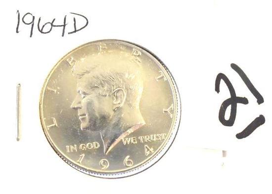 Kennedy Half 1964-D