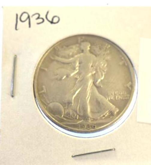 1936 Walking Liberty Half Dollar