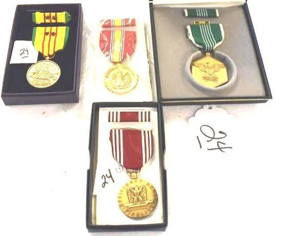 Group Lot of Misc. Military Vietnam Era Medals