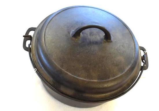 5 Quart Cast Iron Dutch Oven, Porcelian Lined Lid