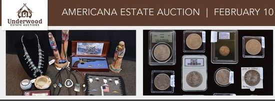 AMERICANA ESTATE AUCTION