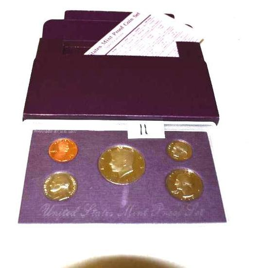 United States Mint Proof Set 1988 w/Kennedy Half