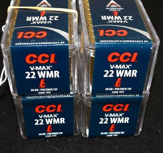 CCI .22 WMR, V MAX 30 Grain Varmint Ammo, 50 per box