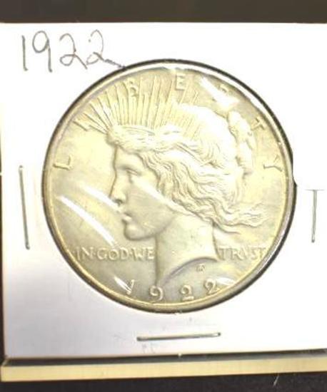 1922 U. S. Peace Silver dollar
