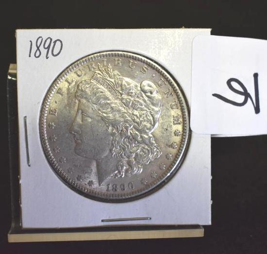 U. S. Morgan Silver dollar, 1890 with Good Details