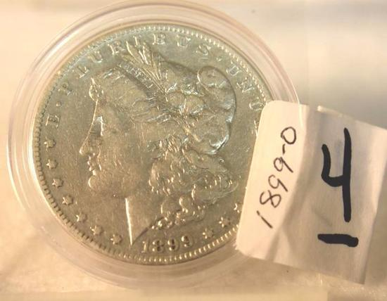 1899-O U S Morgan Silver Dollar