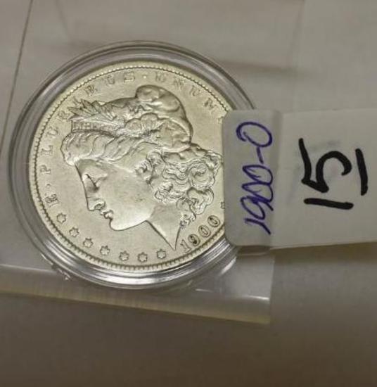 1900-O U S Morgan Silver Dollar