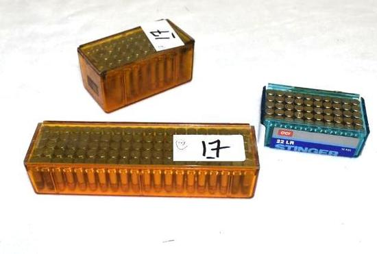 Mixed Lot Factory 22 Ammo, 200 rds total