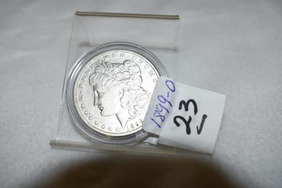 1899-O U S Morgan Silver Dollar with some circulation wear