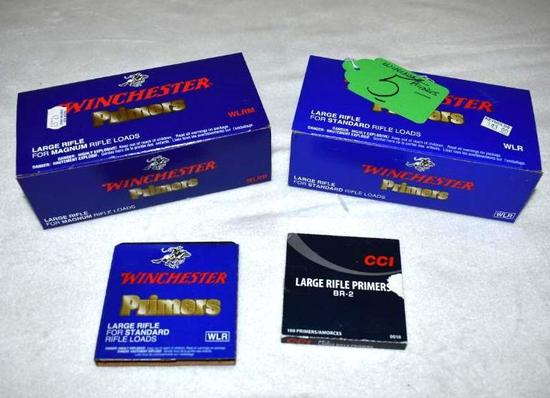 Winchester Primers apx 1800 for Large Rifles