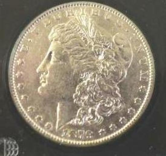 1879 U S Morgan Silver Dollar, Key Date