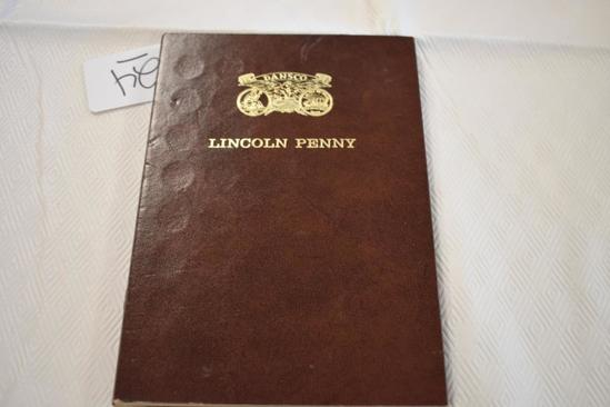Hard Cover Book Lincoln Pennies Dating from 1909 and on