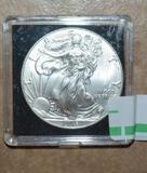 American Eagle Silver Dollar 2016 Uncirculated 1 oz .999 Fine Silver