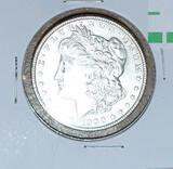 1900 U S Morgan Silver Dollar, Nice Hi Grade Coin, Excellent Detail Overall