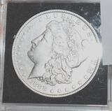 US Morgan Silver Dollar 1888; Crisp Liberty, Clear Face, Good Details